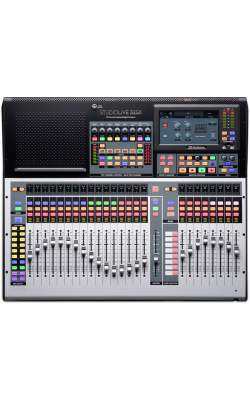 STUDIOLIVE 32SX - Compact 32-channel/22-bus digital console/recorder