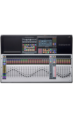 STUDIOLIVE 64S - 64-channel/43-bus digital console/recorder/interfa