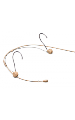 TH53T/O-MTQG - Subminiature Headworn Microphone - MTQG Tan