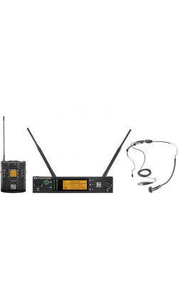 RE3-BPHW-5L - Bodypack set, headworn mic 488-524MHz