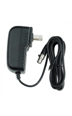 AC-12V-1.5A-MX - 12V 1.5A AC Adapter w/ Mini XLR Connector