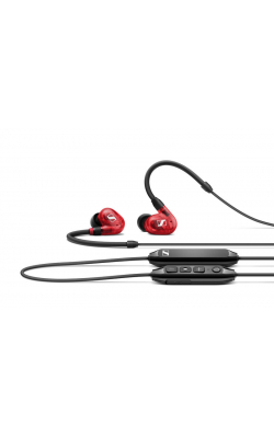 IE 100 PRO WRLS RED - In-Ear Monitor Red with Bluetooth Module Connector