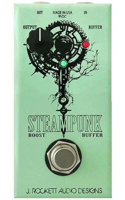 STEAMPUNK BOOST/BUFF - 25+ db Boost and selectable Buffer