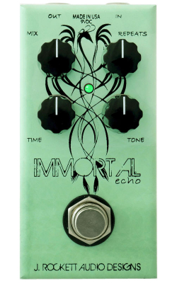 IMMORTAL ECHO - Warm Echo with tone control and 680ms of delay tim