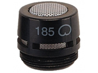 R185B - Black Cardioid Cartridge for MX- (Microflex®)Mode