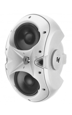 "EVID 6.2W - EVID Twin 6"" Surface-Mount Speaker System (White)"