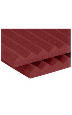 "1SF24BUR - 1"" Studiofoam Wedges (20-pack, 2'x4'x1"", Burgundy)"