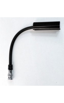 "12G-HI - 12"" High Intensity Gooseneck Lamp with BNC Connector"