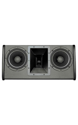 "FRI 28LPM-BLK - FRi Series Dual 8"" Two-Way Full-Range Stage Monitor"