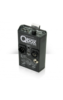 QBOX - All-In-One Audio Line Tester
