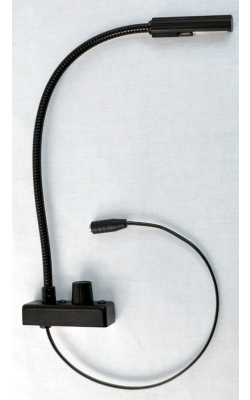 "18G-HI - 18"" High Intensity Gooseneck Lamp with BNC Connector"
