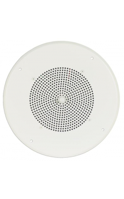 "S86T725PG8W - 8"" Ceiling Speaker Assembly (Off-White)"
