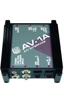 AV1A - AV-1A Audio Visual Interface