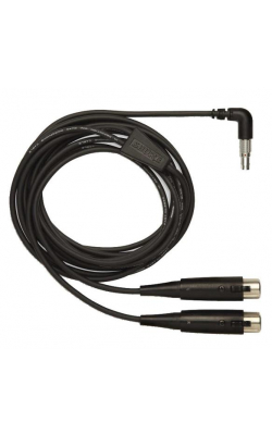 PA720 - 10' Input Cable for the P6HW Hardwired Bodypack (5