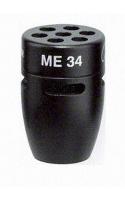 ME 34 - Cardioid Capsule for MZH Goosenecks (Black)