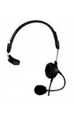 PH-88R - Single-Sided Lightweight Headset (6' Cord, A4M)