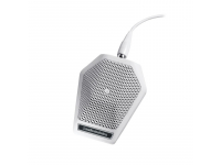 U851RW - UniPoint Series Cardioid Boundary Mic (Built-in Power Module, White)