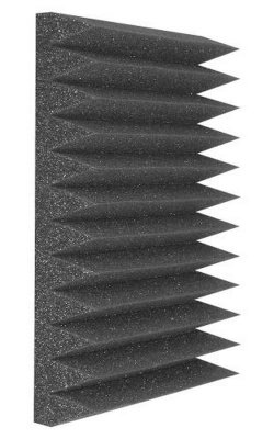WEDGIE_24 - Wedgie Series Foam Panels (24 pack, Charcoal)