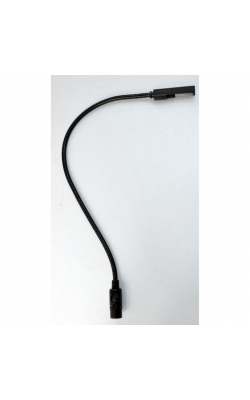 "18X-4-LED - 18"" LED Gooseneck with 4-Pin Right Angle XLR Connector"