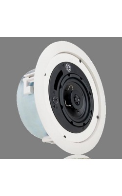 "FAP42TC - 4"" 2-Way Speaker Low Profile System with Transformer (White)"
