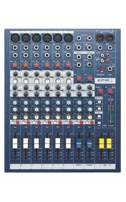 EPM6 - EPM Series 6+2-Channel Mixer