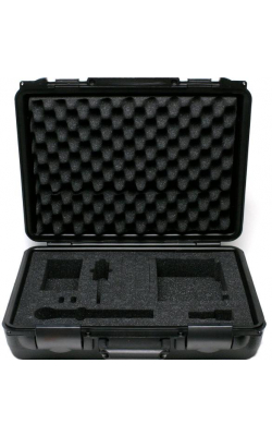 WA610 - Hard Carrying Case for ULX and SLX 1/2 Rack Wirele