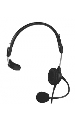 PH-88 - Single-Sided Lightweight Headset (6' Cord, A4F)