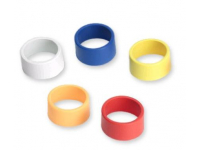 WA615M - One Each Blue, Red, Yellow, White, Orange Colored