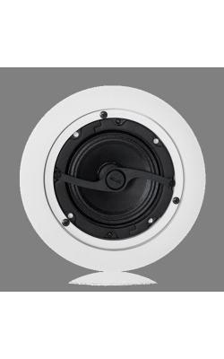 "DLS4 - 4"" Dog Leg Speaker with 70.7V/100V-8W Transformer"
