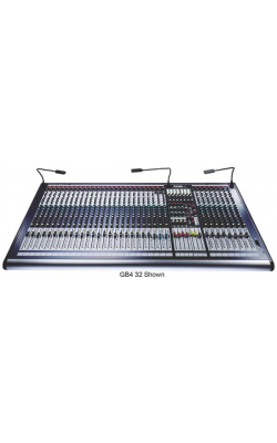 GB4 40CH 40+4/4/2 - GB4 Series 40-Channel 4-Group Multi-function Mixer
