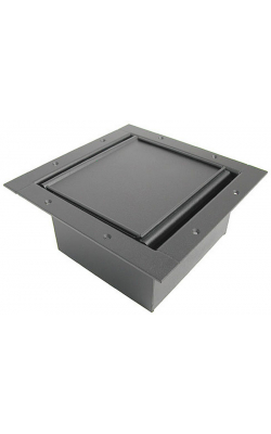 122CLBK - Full Pocket/Carpet Lid - Black