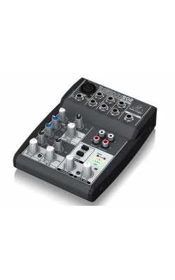 502 - Premium 5-Input 2-Bus Mixer with Xenyx Mic Preamp