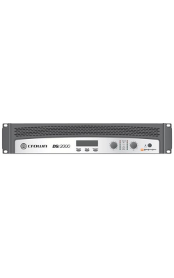 DSI2000 - DSi Series 2kW Cinema Amplifier with DSP