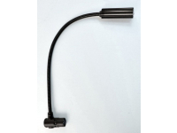 "12XR-HI-4 - 12"" High Intensity Gooseneck Lamp with 4-Pin Right Angle XLR Connector"
