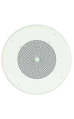 "S86T725PG8WBR - 8"" Ceiling Speaker Assembly (Off-White, Screw Terminal Strip)"