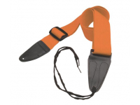 GSA10OR - Guitar Strap with Leather Ends (Orange)