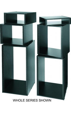 "RK16 - RK Series 16RU Laminate Rack Case (Black, 16"" Depth)"