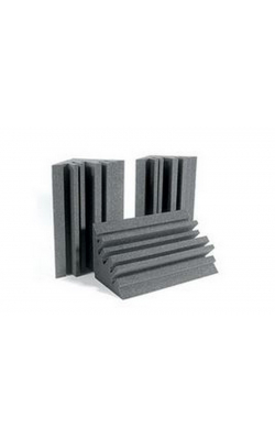 METROLENCHA - MetroLENRD Series Bass Traps (8-pack, Charcoal)