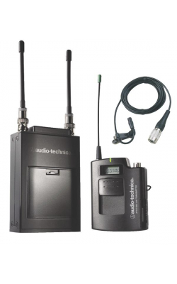 ATW-1811D - Camera-Mount UHF Wireless System with Bodypack and Lav