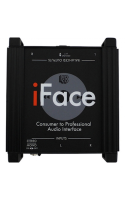 IFACE - iPod / MP3 / Laptop Interface