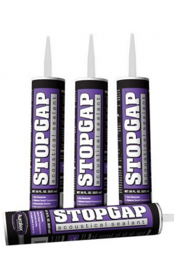 STOPGAP - Acoustical Sealant, 16 oz Tube