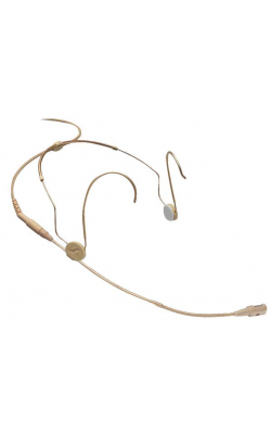 HSP 4-EW-3 - Cardioid Modular PerformanceHeadworn Mic (Beige, ew Connector)
