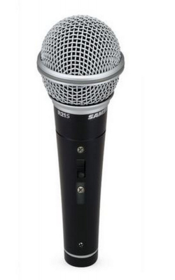 R21S - Dynamic Cardiod Handheld Mic with Switch - Mic Cli