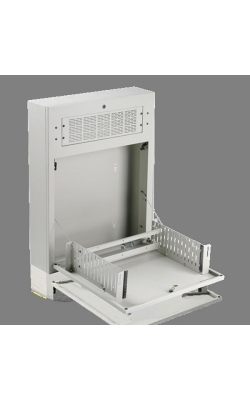 "AWR3W - 3RU Tilt Out Wall Cabinet for 19"" Equipment (White)"