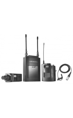 ATW-1823D - Camera-Mount Dual Channel Wireless with Plug-in Transmitter and Lav