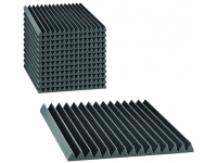 "2SF22CHA_HP - 2"" Studiofoam Wedges (12-pack, 2'x2'x2"", Charcoal)"