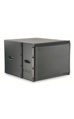 WL118-SW-BK - ILA Series Subwoofer for Installation Line Array
