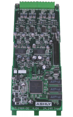 NE24.24M INPUT - 4-Input Card for ne24.24m DSP Matrix Mixer