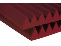 "3SF24BUR - 3"" Studiofoam Wedges (8-pack, 2'x4'x3"", Burgundy)"