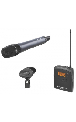 EW 135P G3-A - ew100 G3 Series Wireless Handheld ENG Set with e835 Capsule